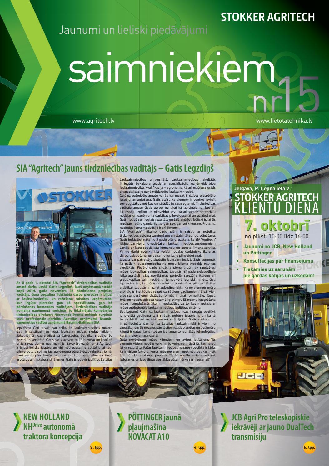 Avīze Saimniekiem nr. 15 by Stokker Agritech - Issuu