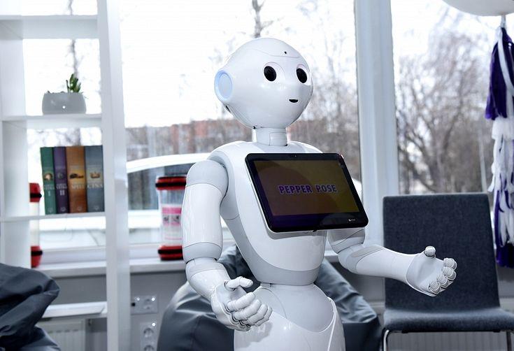 tirdzniecības robotu video