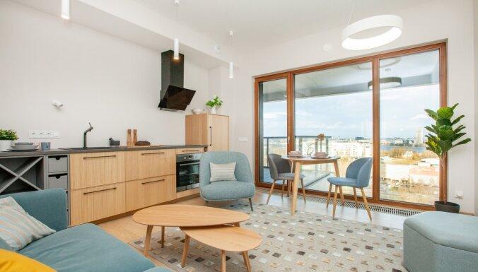 Trīs istabu dzīvoklis proejktā Villa Millia - Vestabalt