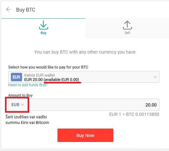 ieņēmumi no bezmaksas bitcoin