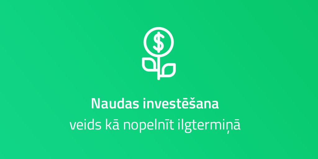 Pirmie soļi investēšanā | Swedbank blogs