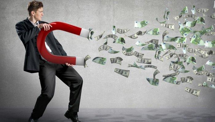 kas traucē cilvēkam nopelnīt lielu naudu