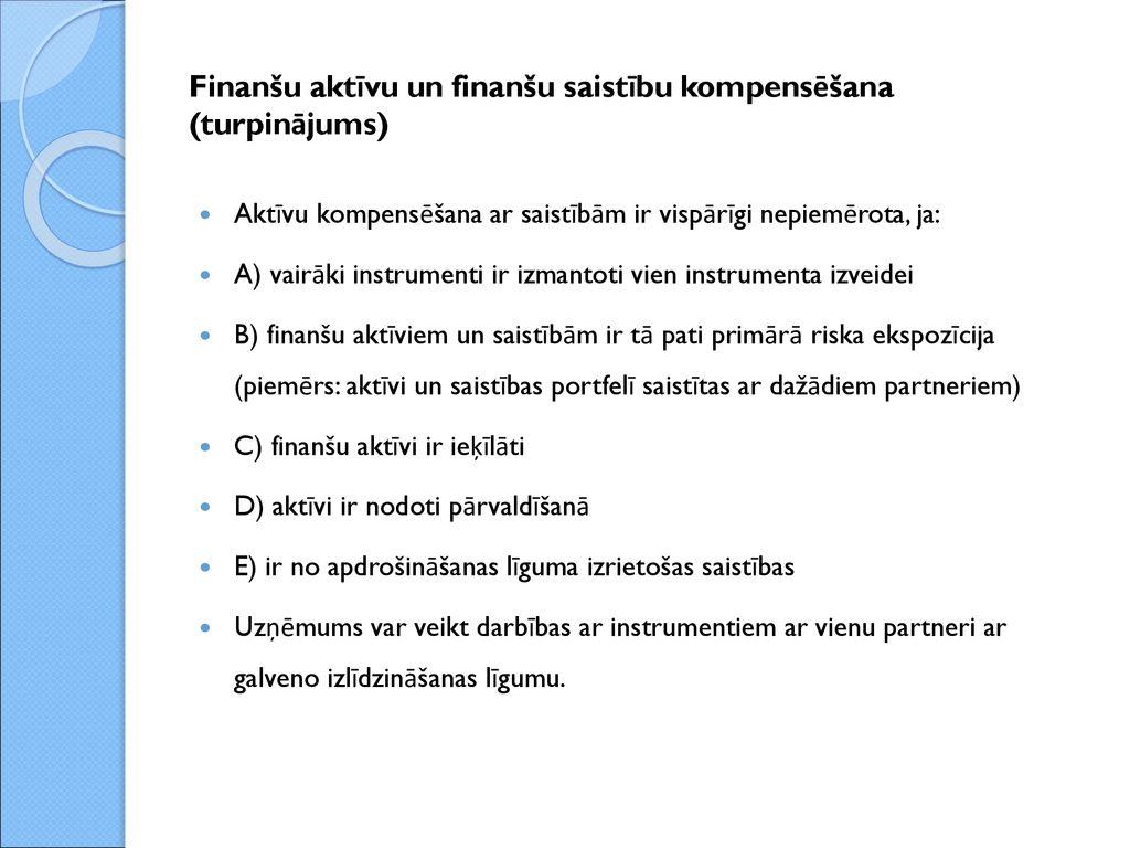 opcijas un finanšu aktīvi bināro opciju plāns