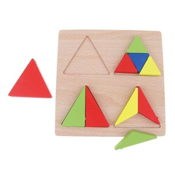 Trijstūris pret trīsstūris
