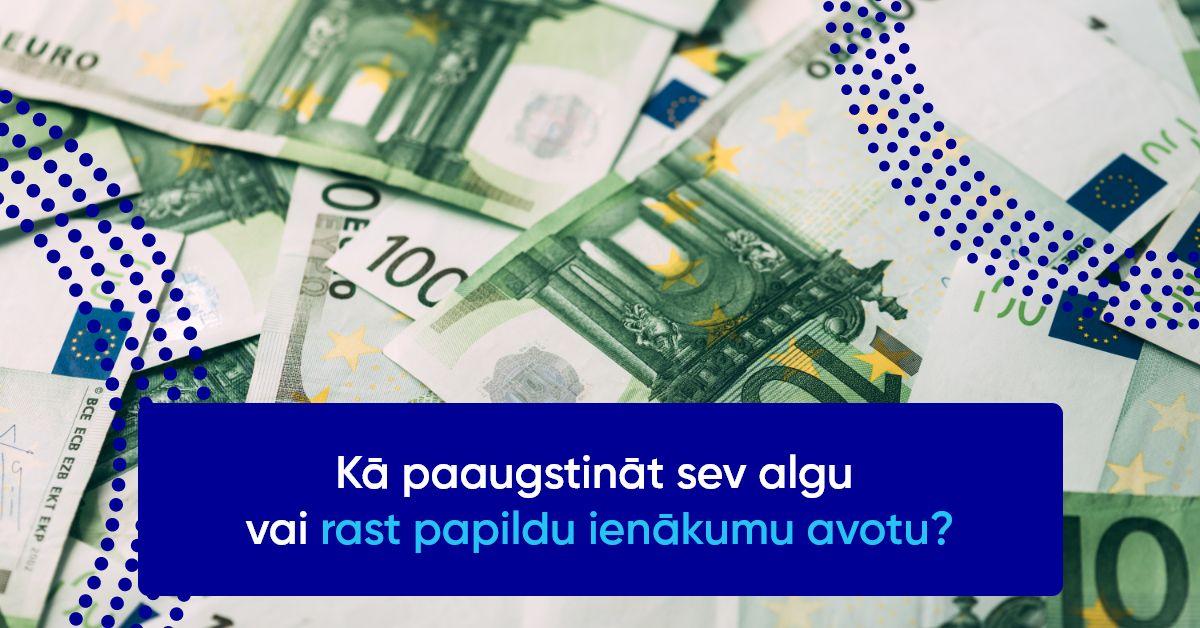 biznesa ienākumu papildu ienākumi