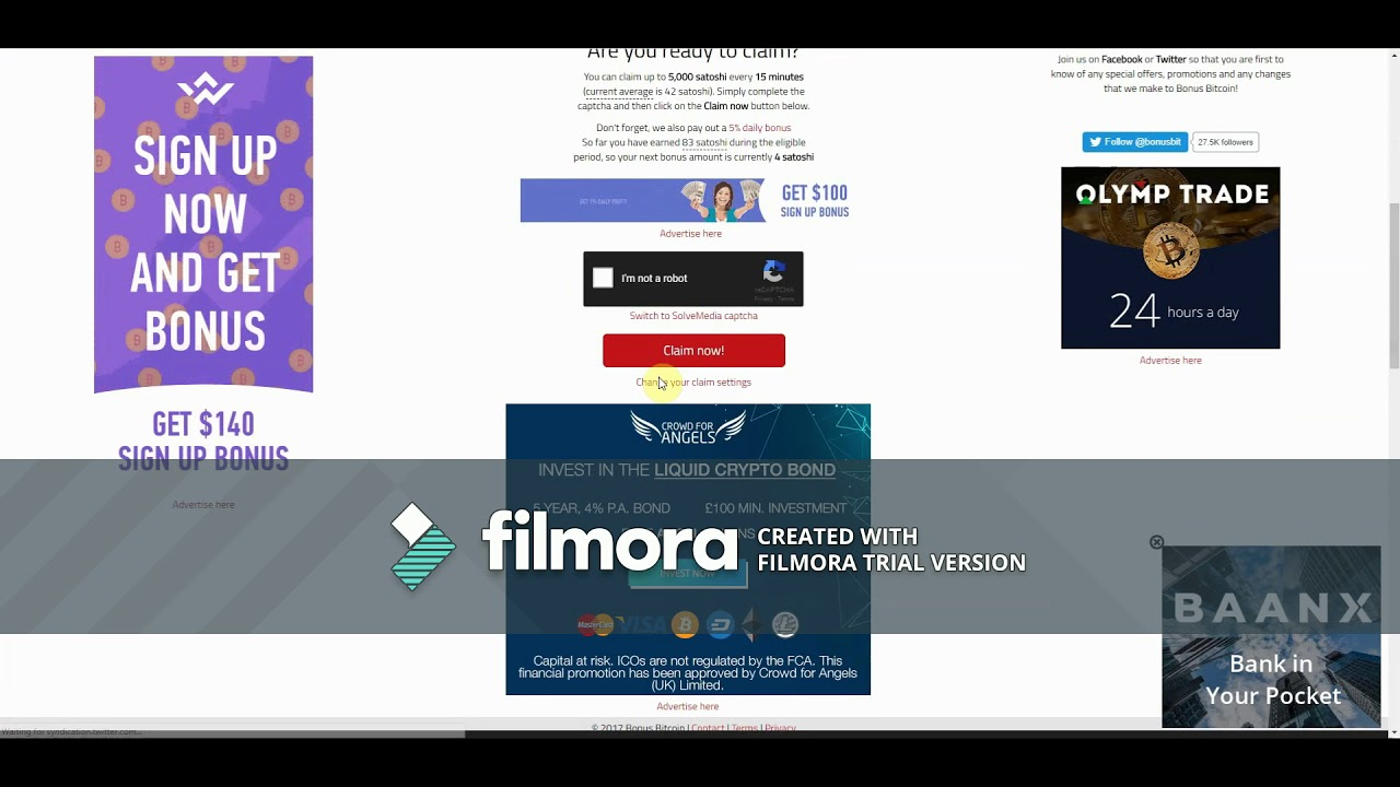 Bitcoin peļņa 30 minūtes projekta tiešsaistes ieņēmumi